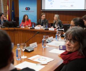 O director xeral de Relacións Exteriores e coa UE, Jesús Gamallo, presidiu esta mañá a reunión plenaria do Consello Galego de Cooperación para o Desenvolvemento